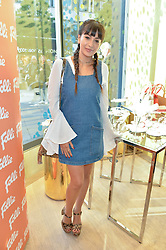 ROXIE NAFOUSI at the launch the Folli Follie Flagship store at 493 Oxford Street, London on 28th May 2015.