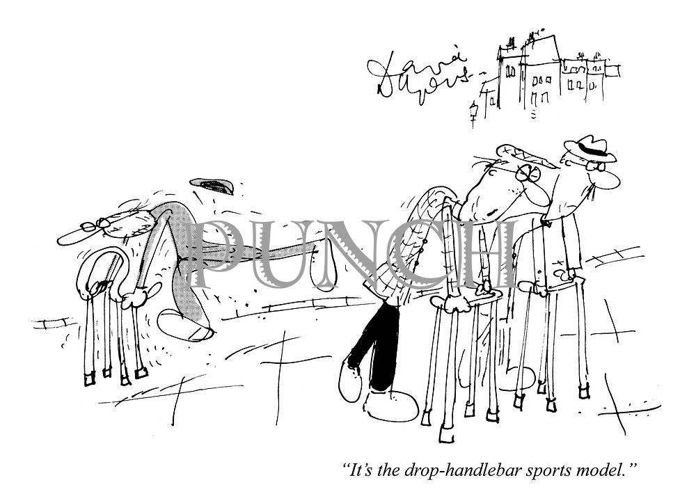 """It's the drop-handlebar sports model."""