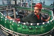 Coca Cola Bottling Plant bottling 7-Up.
