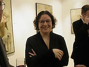 Catherine Gran. Catherine Gran/Adolf Geudens. Albermarle Gallery. albermarle St. London  27 Feb 2002. © Copyright Photograph by Dafydd Jones 66 Stockwell Park Rd. London SW9 0DA Tel 020 7733 0108 www.dafjones.com