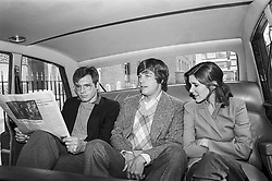 CARRIE FRANCES FISHER (October 21, 1956 - December 27, 2016) the actress best known as Star Wars' Princess Leia Organa, has died after suffering a heart attack. She was 60. Pictured: December 22, 1980 - London, United Kingdom, U.S. - Harrison Ford, Mark Hamill, & Carrie Fisher 1980 (Credit Image: © Lynn Goldsmith via ZUMA Press)