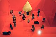 Nederland, Heilig landstichting, 21-12-2009Van 19 tot 31 december is in het museumpark orientalis,het vroegere bijbels openluchtmuseum, een expositie van kerststalletjes uit de hele wereld te zien.zoals uit Peru, Mexico, Tanzania. Het komt uit de collectie van Elisabeth Houtzager.Vanwege een grote renovatie en verbouwing gaat het museum daarna anderhalf jaar dicht.Foto: Flip Franssen/Hollandse Hoogte