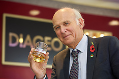 Vince Cable visits Diageo, Edinburgh, 2 November 2018