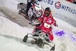 07.12.2014, Saalbach Hinterglemm, AUT, Snow Mobile, im Bild Larissa Marolt // during the Snow Mobile Event at Saalbach Hinterglemm, Austria on 2014/12/07. EXPA Pictures © 2014, PhotoCredit: EXPA/ JFK