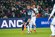 kylian mbappe (psg) during the French Cup football match between Paris Saint-Germain and Marseille on February 28, 2018 at Parc des Princes Stadium in Paris, France - Photo Pierre Charlier / ProSportsImages / DPPI