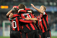 FOOTBALL - CHAMPIONS LEAGUE 2010/2011 - GROUP STAGE - GROUP G - AJ AUXERRE v MILAN AC - 23/11/2010 - PHOTO JEAN MARIE HERVIO / DPPI - JOY MILAN AC