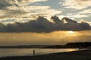 Although most of its people shun away from the sun, Taiwan has many beautiful beaches like this one in Kending.