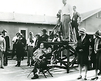 """1928 Charlie Chaplin during the filming of """"The Circus"""""""