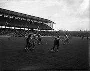 08/10/1961<br /> 10/08/1961<br /> 08 October 1961<br /> All Ireland Camogie Final at Croke Park, Dublin. Tipperary v Dublin