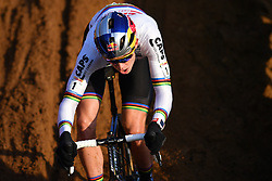 December 26, 2018 - Heusden-Zolder, BELGIUM - Belgian Wout Van Aert pictured in action during the men Elite race of the seventh stage (out of nine) in the World Cup cyclocross, Wednesday 26 December 2018 in Heusden-Zolder, Belgium...BELGA PHOTO DAVID STOCKMAN (Credit Image: © David Stockman/Belga via ZUMA Press)