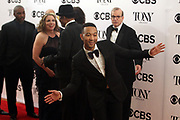 June 10, 2017-New York, New York-United States: Recording Artist John Legend attends the 71st Annual Tony Awards Media Room held at Radio City on June 11, 2017 in New York City. The Tony Awards recognize achievement in Broadway productions during the 2016–17 season.  (Photo by Terrence Jennings/terrencejennings.com)
