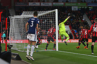 Football - 2017 / 2018 Premier League - AFC Bournemouth vs. West Bromwich Albion<br /> <br /> Bournemouth's Charlie Daniels makes a last minute goal line clearance at Dean Court (Vitality Stadium) Bournemouth <br /> <br /> COLORSPORT/SHAUN BOGGUST