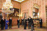 012115 Spanish Royals attends a Reception to the diplomatic corps accredited in Spain