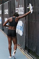 Samsung Diamond League adidas Grand Prix track & field; Womens Triple Jump, Erica McLain (?) USA
