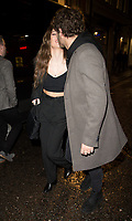 Eyal Booker, Delilah Belle Hamlin at the Club 64 VIP launch at Salon 64 Soho London. 27.11.19