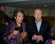 FAITH BROOK;; MURRAY MELVIN, The Actors Centre's 30th Birthday Party. 1a Tower St, Covent Garden. London. 2nd November<br />
