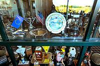 DOMBURG -  Interieur Clubhuis van de Domburgsche Golf Club in Zeeland (Walcheren) .  COPYRIGHT KOEN SUYK