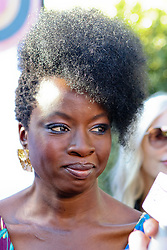 """Jan 4th, 2019. Palm Springs, ca. USA. Black Panther Actress, DANAI GURIRA at the """"Variety Creative Impact Awards"""" held during the 30th Palm Springs International Film Festival. The Awards took place at the Parker Hotel. Photo by Dane Andrew c.2019 / Total Entertainment News. TEN.  408 666-8388  TenPressMedia@gmail.com"""