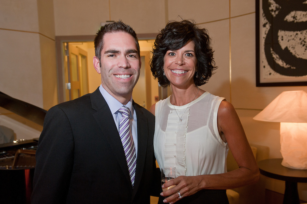 The Four Seasons Residences Austin hosted a party Friday night for current, future and prospective residents. Bryan Gardner and Robin Segesta were in attendance.
