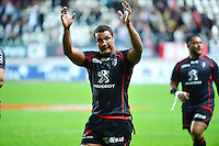 Joie Thierry DUSAUTOIR - 24.04.2015 - Stade Francais / Stade Toulousain - 23eme journee de Top 14<br />
