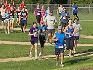 Central Valley, New York - Runners compete in the Woodbury Country Ramble race on Aug. 26, 2012.