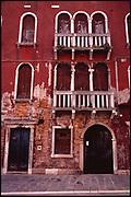 Facade of Building, Venice, Italy