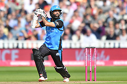 Worcestershire Rapid's Moeen Ali bats during the Vitality T20 Blast Semi Final match on Finals Day at Edgbaston, Birmingham.