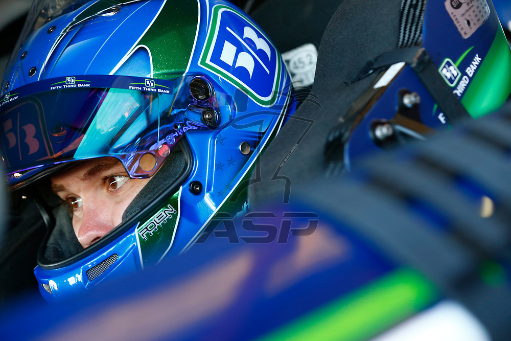 April 28, 2017 - Richmond, Virginia, USA: Ricky Stenhouse Jr. (17) hangs out in the garage during practice for the Toyota Owners 400 at Richmond International Speedway in Richmond, Virginia.