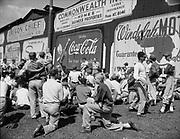 "Ackroyd 00064-4. ""Portland Baseball Club – Boys class. August 19, 1947."" Vaughn St. Stadium, Portland Beavers,"