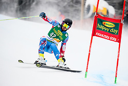 Andreas Zampa of Slovakia during 1st run of Men's GiantSlalom race of FIS Alpine Ski World Cup 57th Vitranc Cup 2018, on March 3, 2018 in Kranjska Gora, Slovenia. Photo by Ziga Zupan / Sportida