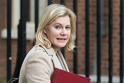 Downing Street, London, November 29th 2016. Education Secretary Justine Greening arrives at 10 Downing Street for the weekly meeting of the UK cabinet.