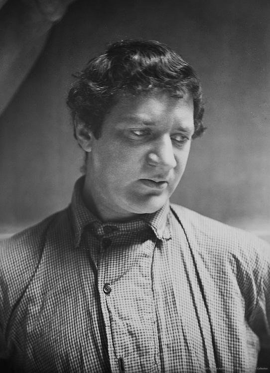 Jacob Epstein, sculptor, c1912
