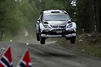 MOTORSPORT - WORLD RALLY CHAMPIONSHIP 2012 - FINLAND RALLY / RALLYE DE FINLANDE - JYVASKYLA (FIN) - 03 TO  05/08/2012 - PHOTO: FRANCOIS BAUDIN / DPPI - <br /> 04SOLBERG Petter - PATTERSON Chris / FORD FIESTA - WRC / Action