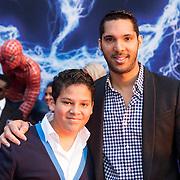 NLD/Amsterdam/20140422 - Premiere The Amazing Spiderman 2, Richy Brown en ............