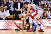 DESCRIZIONE : Campionato 2014/15 Serie A Beko Grissin Bon Reggio Emilia - Dinamo Banco di Sardegna Sassari Finale Playoff Gara7 Scudetto<br /> GIOCATORE : Jerome Dyson Rimantas Kaukenas Andrea Cinciarini<br /> CATEGORIA : Palla Contesa A Terra<br /> SQUADRA : Dinamo Banco di Sardegna Sassari<br /> EVENTO : LegaBasket Serie A Beko 2014/2015<br /> GARA : Grissin Bon Reggio Emilia - Dinamo Banco di Sardegna Sassari Finale Playoff Gara7 Scudetto<br /> DATA : 26/06/2015<br /> SPORT : Pallacanestro <br /> AUTORE : Agenzia Ciamillo-Castoria/L.Canu