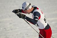 Langrenn, 01. mars 2003, Junior NM, Chris Jespersen, Korlevoll, ble norsk mester