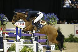 Verlooy, Jos, Domino<br /> Las Vegas - FEI Weltcup Finale Dressur und Springen 2015<br /> Springen Finale IV<br /> © www.sportfots-lafrentz.de/Stefan Lafrentz