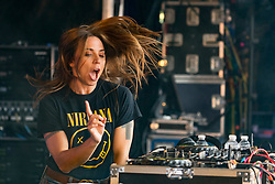 Melanie C performing a DJ Set at Party At The Palace Music Festival in Linlithgow Palace grounds on Sat 11th August 2018.<br /> <br /> <br /> Alan Rennie/ EEm