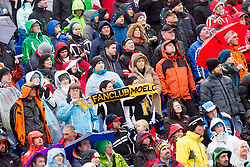 Fans during 2nd Run of the 10th Men's Slalom - Pokal Vitranc 2013 of FIS Alpine Ski World Cup 2012/2013, on March 10, 2013 in Vitranc, Kranjska Gora, Slovenia. (Photo By Vid Ponikvar / Sportida.com)