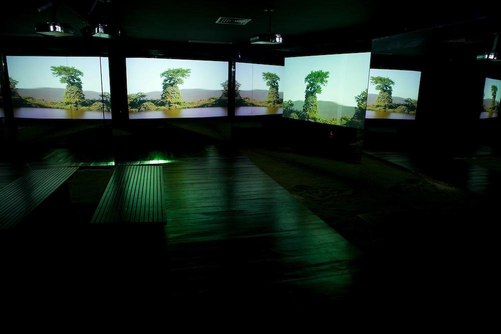 Corumba_MS, Brasil...Imagens do MUHPAN (Museu de Historia do Pantanal) em Corumba, Mato Grosso do Sul...Pantanal History Museum (MUHPAN) in Corumba, Mato Grosso do Sul...Foto: LUIZ FELIPE FERNANDES / NITRO