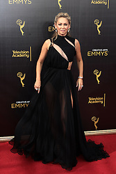 Kym Johnson  attends  2016 Creative Arts Emmy Awards - Day 2 at  Microsoft Theater on September 11th, 2016  in Los Angeles, California.Photo:Tony Lowe/Globephotos