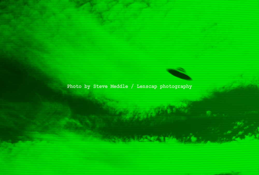 UFO Caught on CCTV