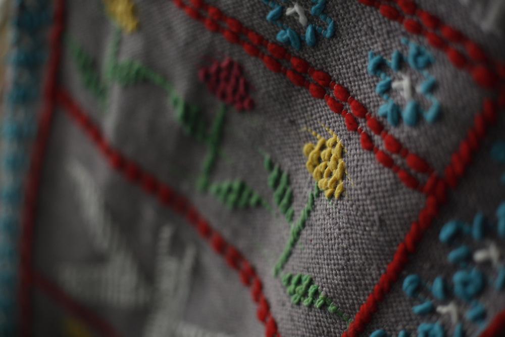 Berilo_MG, Brasil.<br /> <br /> Trabalhos de artesanato em algodao em Berilo, Minas Gerais.<br /> <br /> Craft work in cotton in Berilo, Minas Gerais.<br /> <br /> Foto: LEO DRUMOND / NITRO