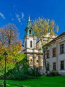 Kolegiata św. Anny w Krakowie od strony Plant, Polska<br /> Collegiate of St. Anna Church in Cracow from Plant, Poland