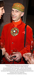 Designer ANDREW LOGAN at a reception in London on 11th March 2003.PHX 64