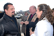 12/7/09 - 11:27:40 AM - FORTESCUE, NJ: Diana & Ken - December 7, 2009 - Fortescue, New Jersey. (Photo by William Thomas Cain/cainimages.com)