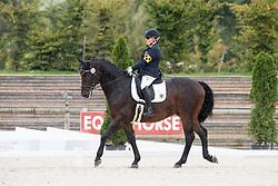 Schnarre Carolin, (GER), Del Rusch<br /> Grade IV Team Test<br /> Para-Dressage FEI European Championships Deauville 2015<br /> © Hippo Foto - Jon Stroud<br /> 18/09/15
