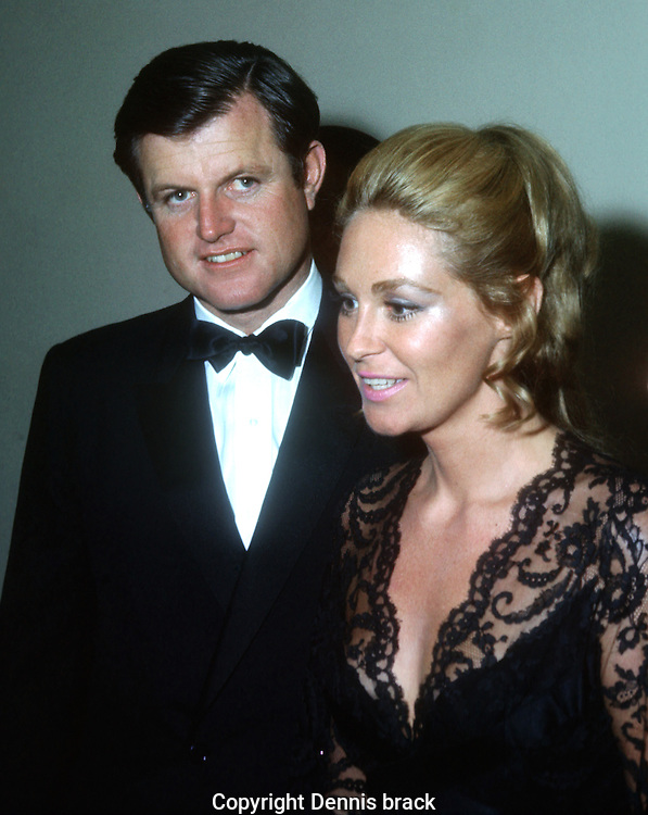 A 29 MG IMAGE OF:..Ted and Joan Kennedy at a piano concert where Joan Kennedy performed ..Photo by Dennis Brack  B 8
