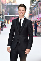 Ansel Elgort attending the Baby Driver premiere held at Cineworld in Leicester Square, London.