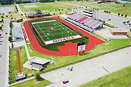Yukon Millers High School Football Stadium in Yukon, Oklahoma on Thursday, July 9, 2020. Photo copyright © 2020 Alonzo Adams.